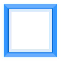 Foto auf AluDibond Klassische Abstraktion Colored frame