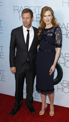 """Actors and cast members Aaron Eckhart and Nicole Kidman arrive for the premiere of the film """"Rabbit Hole"""" in New York"""