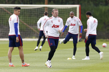 Manchester United Training - FA Cup Final Preview