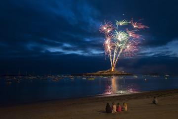 Fuochi d'artificio Bretagna