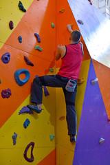 Athletic Climber Man