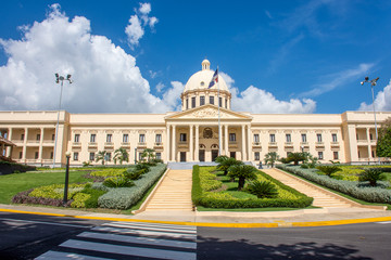 The National Palace in Santo Domingo houses the offices of the Executive Branch of the Dominican Republic.