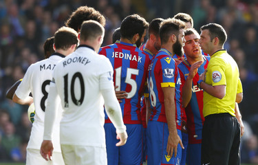 Crystal Palace v Manchester United - Barclays Premier League