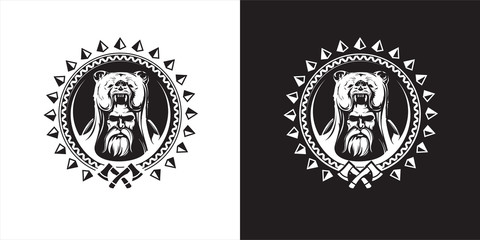 Warrior in scandinavian mythology