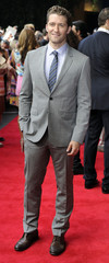 """Actor Matthew Morrison poses for photographers as he arrives for the European premiere of """"What to expect when you are Expecting"""", in London"""