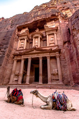 """The Treasury"" in Petra; Jordan"