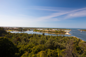 Kalimna Lookout Over Lakes Entrance