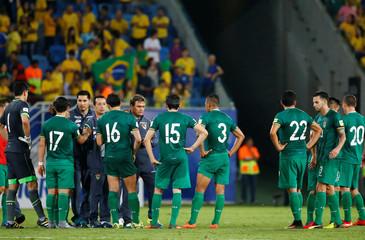 Football Soccer - Brazil v Bolivia - World Cup 2018 Qualifier