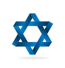 Jewish symbol logo