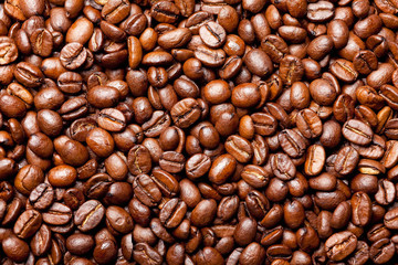coffee beans for the texture