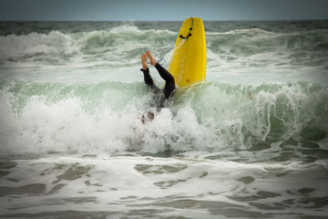 Search Photos Wipeout Surfing Accident Surfboard Background