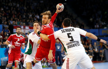 Men's Handball - Hungary v Croatia - 2017 Men's World Championship Main Round - Group C