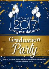 Invitation to Graduation party