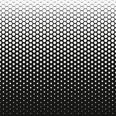Honeycomb halftone Vector abstract background. Halftone effect. Repeating background texture