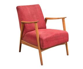 Schöner Alter Antiker Sessel Um 1950