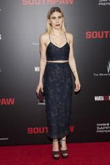"""Actress Zosia Mamet attends the premiere of """"Southpaw"""" in New York"""