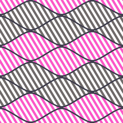 Seamless vector abstract pattern. symmetrical geometric repeating background with decorative rhombus. Simle graphic design for web backgrounds, wrapping, surface, fabric