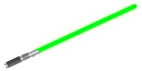 Light Sword Solid Green