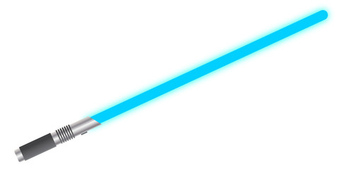 Light Sword Solid Blue