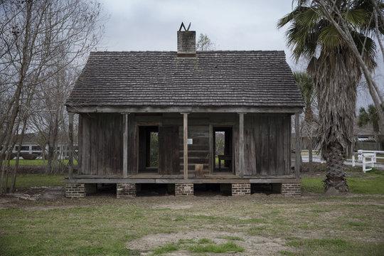 Slave quarters at the Whitney Plantation in Wallace Louisiana