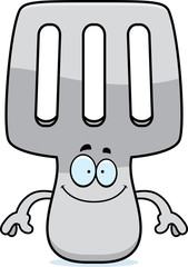 Happy Cartoon Spatula