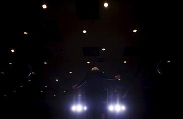 U.S. Democratic presidential candidate Bernie Sanders speaks at a campaign rally in Reno