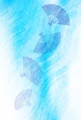 海 川 波 背景