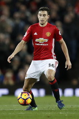 Britain Football Soccer - Manchester United v West Ham United - Premier League - Old Trafford - 16/17 - 27/11/16Manchester United's Matteo Darmian Action Images via Reuters / Carl RecineEDITORIAL USE ONLY. No use with unauthorized audio, video, data, f