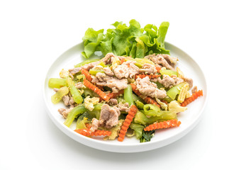 Stir-Fried Shanghai Noodle with Pork
