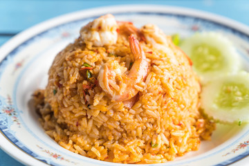 fried rice spicy seafood