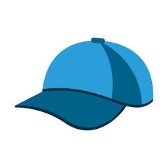 baseball hat or cap icon image vector illustration design