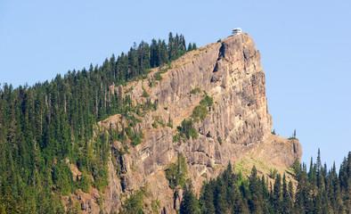 Historic Structure High Rock Fire Lookout Sawtooth Ridge Washington