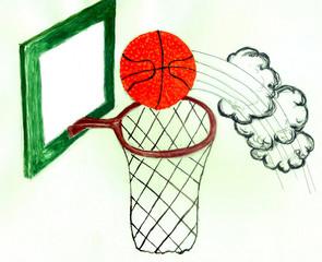 Basketball Ball Sketch