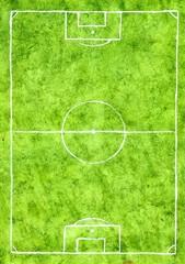 Soccer Field Sketch