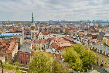 POZNAN (Poland) -:View of the old town