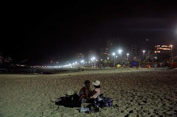 The Wider Image: Sun, sea and sport: Rio's beach life