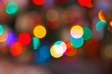 Abstract blurred holiday background