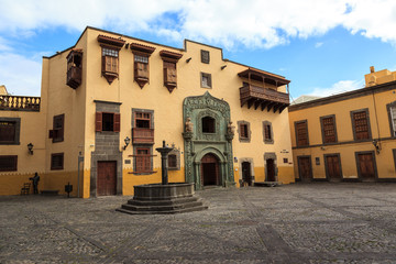 Christopher Columbus house, in Las Palmas de Gran Canaria. Spain.