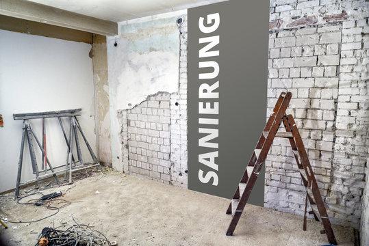 Sanierung * Zimmer3 Sanierung