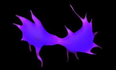 3d rendering - dendritic cell