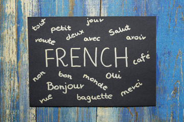 concept of learning french language