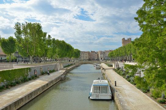 Canal de la Robine in Narbonne