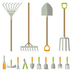 garden tools big set