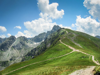 Tatra Mountains - trekking trail to Swinica