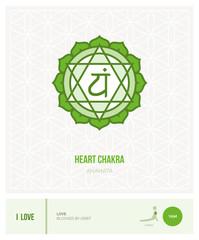 Heart chakra Anahata