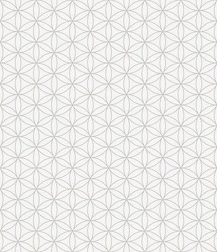 Flower of life seamless pattern