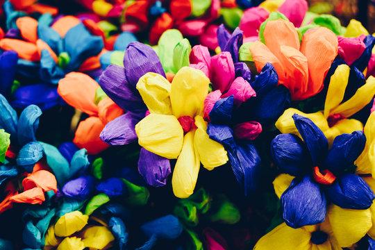 Mexican Paper Flower Bouquet