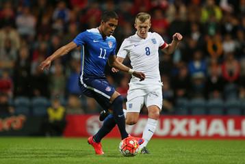 England U21 v United States of America U23 - International Friendly
