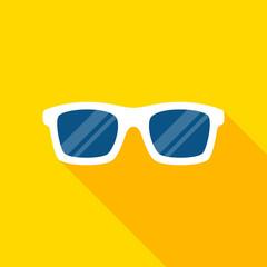 Sunglasses flat design vector illustration