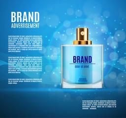 Perfume ads templete